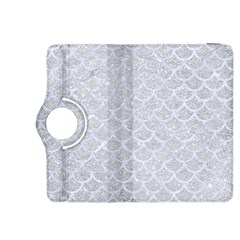 Scales1 White Marble & Silver Glitter Kindle Fire Hdx 8 9  Flip 360 Case by trendistuff