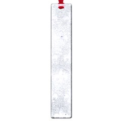 Royal1 White Marble & Silver Glitter (r) Large Book Marks by trendistuff