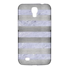 Stripes2white Marble & Silver Brushed Metal Samsung Galaxy Mega 6 3  I9200 Hardshell Case by trendistuff