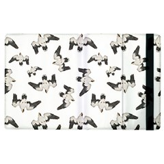 Birds Pattern Photo Collage Apple Ipad 3/4 Flip Case by dflcprints