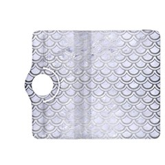 Scales2 White Marble & Silver Brushed Metal (r) Kindle Fire Hdx 8 9  Flip 360 Case by trendistuff