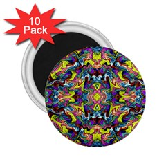 Pattern 12 2 25  Magnets (10 Pack)