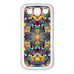 Pattern 12 Samsung Galaxy S3 Back Case (white)