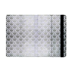 Scales2 White Marble & Silver Brushed Metal Ipad Mini 2 Flip Cases by trendistuff
