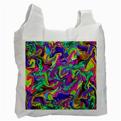 Artwork By Patrick Pattern 15 Recycle Bag (two Side)