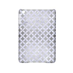 Circles3 White Marble & Silver Brushed Metal Ipad Mini 2 Hardshell Cases by trendistuff