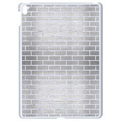 Brick1 White Marble & Silver Brushed Metal Apple Ipad Pro 9 7   White Seamless Case by trendistuff