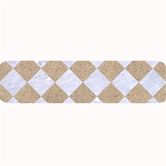 Square2 White Marble & Sand Large Bar Mats by trendistuff