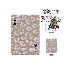 Skin5 White Marble & Sand (r) Playing Cards 54 (mini)  by trendistuff