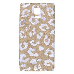 Skin5 White Marble & Sand (r) Galaxy Note 4 Back Case by trendistuff