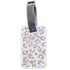 Skin5 White Marble & Sand Luggage Tags (two Sides) by trendistuff