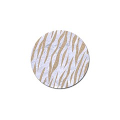 Skin3 White Marble & Sand (r) Golf Ball Marker (10 Pack) by trendistuff