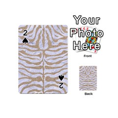 Skin2 White Marble & Sand (r) Playing Cards 54 (mini)  by trendistuff