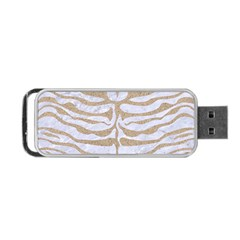 Skin2 White Marble & Sand (r) Portable Usb Flash (two Sides) by trendistuff