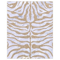 Skin2 White Marble & Sand (r) Drawstring Bag (small) by trendistuff