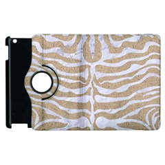 Skin2 White Marble & Sand Apple Ipad 2 Flip 360 Case by trendistuff