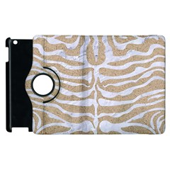 Skin2 White Marble & Sand Apple Ipad 3/4 Flip 360 Case by trendistuff