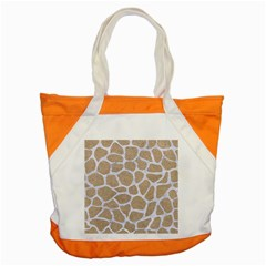 Skin1 White Marble & Sand (r) Accent Tote Bag by trendistuff