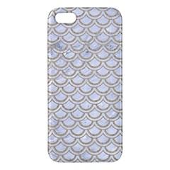 Scales2 White Marble & Sand (r) Apple Iphone 5 Premium Hardshell Case by trendistuff