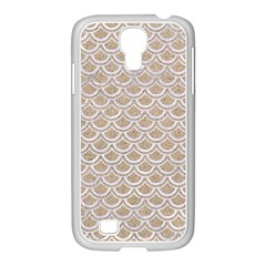 Scales2 White Marble & Sand Samsung Galaxy S4 I9500/ I9505 Case (white) by trendistuff