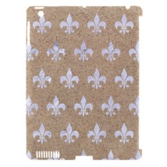 Royal1 White Marble & Sand (r) Apple Ipad 3/4 Hardshell Case (compatible With Smart Cover) by trendistuff