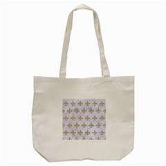Royal1 White Marble & Sand Tote Bag (cream) by trendistuff