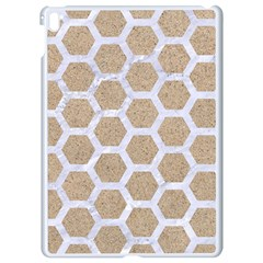 Hexagon2 White Marble & Sand Apple Ipad Pro 9 7   White Seamless Case by trendistuff