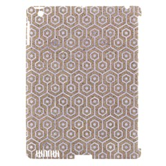 Hexagon1 White Marble & Sand Apple Ipad 3/4 Hardshell Case (compatible With Smart Cover) by trendistuff