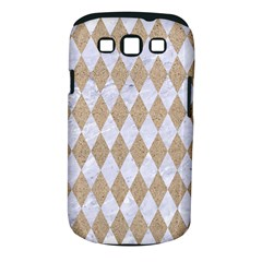 Diamond1 White Marble & Sand Samsung Galaxy S Iii Classic Hardshell Case (pc+silicone) by trendistuff