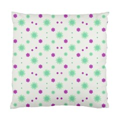 Stars Motif Multicolored Pattern Print Standard Cushion Case (two Sides) by dflcprints