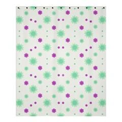 Stars Motif Multicolored Pattern Print Shower Curtain 60  X 72  (medium)  by dflcprints