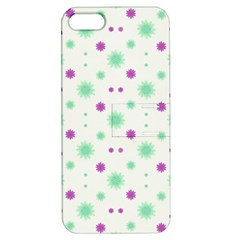 Stars Motif Multicolored Pattern Print Apple Iphone 5 Hardshell Case With Stand by dflcprints