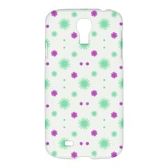 Stars Motif Multicolored Pattern Print Samsung Galaxy S4 I9500/i9505 Hardshell Case by dflcprints
