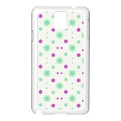 Stars Motif Multicolored Pattern Print Samsung Galaxy Note 3 N9005 Case (white) by dflcprints