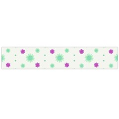 Stars Motif Multicolored Pattern Print Large Flano Scarf  by dflcprints