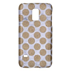 Circles2 White Marble & Sand (r) Galaxy S5 Mini by trendistuff