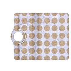Circles1 White Marble & Sand (r) Kindle Fire Hdx 8 9  Flip 360 Case by trendistuff