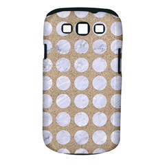 Circles1 White Marble & Sand Samsung Galaxy S Iii Classic Hardshell Case (pc+silicone) by trendistuff