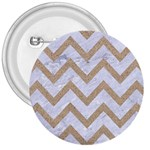 CHEVRON9 WHITE MARBLE & SAND (R) 3  Buttons