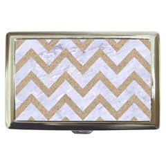 CHEVRON9 WHITE MARBLE & SAND (R) Cigarette Money Cases
