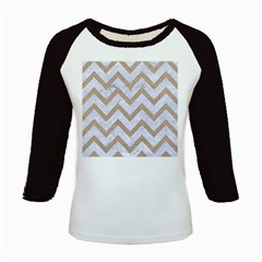 CHEVRON9 WHITE MARBLE & SAND (R) Kids Baseball Jerseys