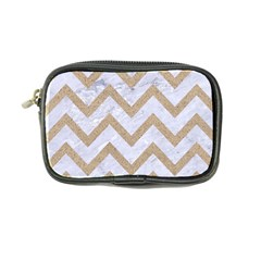 CHEVRON9 WHITE MARBLE & SAND (R) Coin Purse