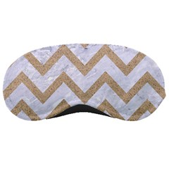 CHEVRON9 WHITE MARBLE & SAND (R) Sleeping Masks