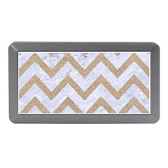 CHEVRON9 WHITE MARBLE & SAND (R) Memory Card Reader (Mini)