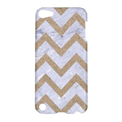 CHEVRON9 WHITE MARBLE & SAND (R) Apple iPod Touch 5 Hardshell Case