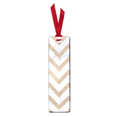 CHEVRON9 WHITE MARBLE & SAND (R) Small Book Marks