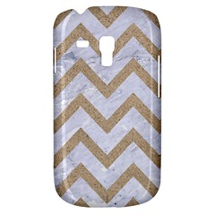 CHEVRON9 WHITE MARBLE & SAND (R) Galaxy S3 Mini