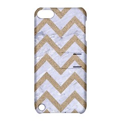 CHEVRON9 WHITE MARBLE & SAND (R) Apple iPod Touch 5 Hardshell Case with Stand