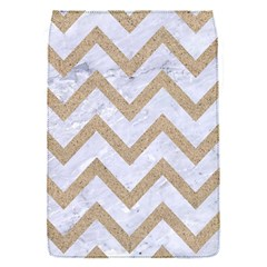 CHEVRON9 WHITE MARBLE & SAND (R) Flap Covers (S)