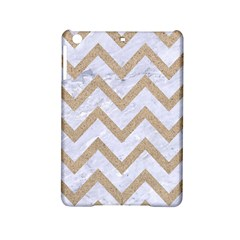 CHEVRON9 WHITE MARBLE & SAND (R) iPad Mini 2 Hardshell Cases